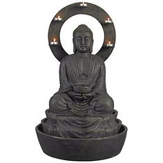 Ando Buddha indoor or Outdoor Fountain