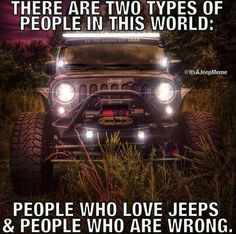 The Jeep Store is your local source for new Chrysler, Dodge, Jeep and Ram vehicles in Ocean Township, NJ. Browse our full inventory online today and visit our website now! Jeep Jk, Jeep Rubicon, Jeep Truck, Jeep Wrangler Unlimited, Wrangler Jeep, Jeep Humor, Jeep Funny, Jeep Quotes, Funny Quotes