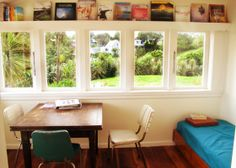 Sunroom at Raglan Farmstay - www.bookabach.co.nz/18403