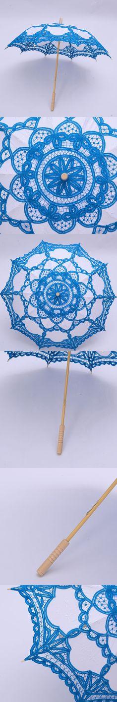 Decoration Wedding Craft Lace Handmade Umbrella Cotton Photography Umbrella Props Japan South Korea Dance Embroidery Umbrella