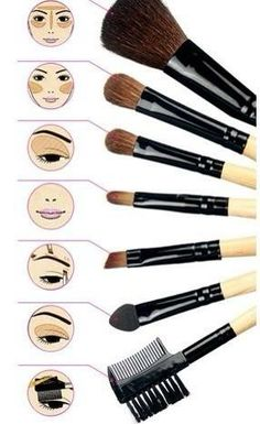 How to use make up brushes and below a link to purchase them. NICE!   Avon has everything you need to get this look! Buy everything you need today at www.youravon.com/kellyolsen Looking for an Avon rep? Become one! Go to https://start.youravon.com/sa/personal.page and use code kellyolsen ! I'll help you no matter where in the states you are!