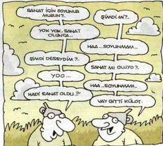 Sanat için soyunur musun, hop kilot gitti, Yiğit Özgür, Huni Karikatür - http://www.karikaturler.biz/?p=5112 - ...