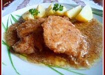 Vepřové kotlety na křenu Pork Tenderloin Recipes, Pork Roast, Good Food, Food And Drink, Beef, Treats, Chicken, Cooking, Foodies