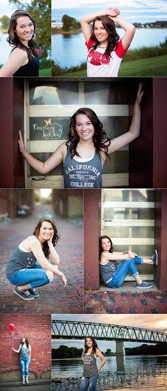Courtney Jackson Photography // Marietta, Ohio photographer // high school senior // senior session //urban senior session // down town