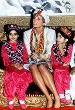 Diana, Princess of Wales  in Pakistan