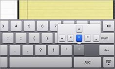 iPad 2 Tips, Tricks, and Shortcuts - Reveal Hidden Keyboard Characters - Slideshow from PCMag.com