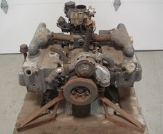 tucker crate engine - originally designed for a helicopter, it was way ahead of its time.
