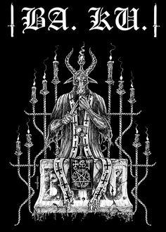 Chris Moyen X BA'KU X Death by Metal