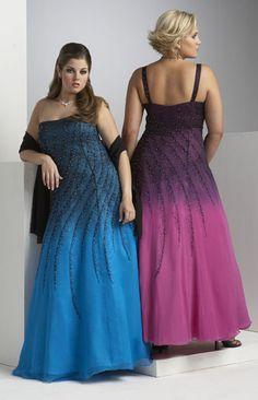 Vestidos de Noche para gorditas Tallas extra 2 Vestidos de Noche para gorditas   Tallas extra