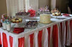 Circus Birthday Party, circus, first birthday party ideas, rainbow cake, cupcakes
