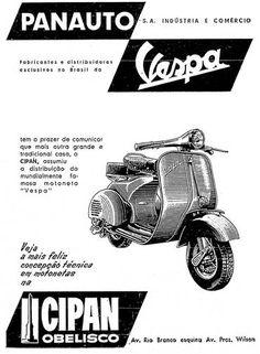 Panauto anuncia novo revendedor da motoneta Vespa, a Cipan Obelisco, na Avenida Rio Branco