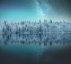 """banshy: """" Finland by: Ilari Tuupanen """" ✧ ॐ ❂ ☼ love and light ☼ ❂ ॐ ✧ Helsinki, Creation Of Earth, Look At The Stars, Snowy Day, What Is Tumblr, Blue Aesthetic, Night Skies, Background Images, Mother Nature"""