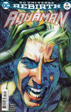DC Aquaman Universe Rebirth comic issue 17 Limited variant
