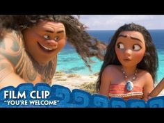 """Here's your first listen of """"You're Welcome,"""" the brand new song from Moana performed by Dwayne Johnson and written by Lin-Manuel Miranda! For centuries, the..."""