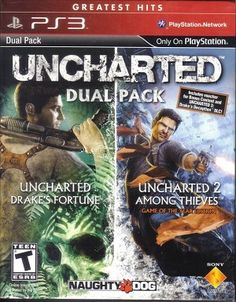 Uncharted & Uncharted 2 Dual Pack