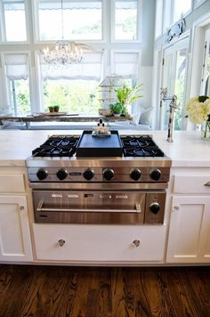 Gorgeous white, light and bright kitchen! Shawna's Glamorous Custom Kitchen