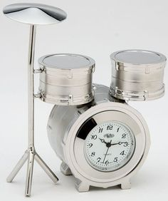 Drum Set Clock