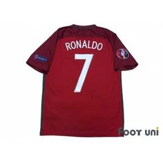 Photo2: Portugal Euro 2016 Home Shirt #7 Ronaldo UEFA Euro 2016 Patch/Badge w/tags Respect Patch/Badge UEFA Euro 2016 Portugal Home Shirt #nike - Football Shirts,Soccer Jerseys,Vintage Classic Retro - Online Store From Footuni Japan