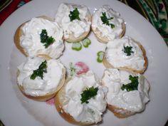 Feta, Potato Salad, Sushi, Foodies, Chili, Cheese, Ethnic Recipes, Finger Food, Chile