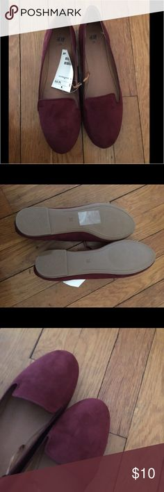 H&M shoes Brand new loafer type flats, never worn. H&M Shoes Flats & Loafers