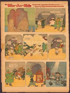 The Kin-der-Kids, Japansky Surprises the Governor—General who condemns him to death  - Lyonel Feininger