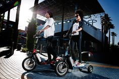 LYRICS can go anywhere.  Welcome to the LYRIC PTV where you experience more mobility with less footprint.  Engineered in Switzerland and manufactured in Scottsdale, AZ, the Lyric PTV (Personal Transportation Vehicle) is the next generation in 3 wheel electric personal transportation.