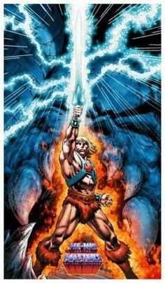 swordandsorcerytales: He-Man and the Masters of the Universe by Philip Tan. Marvel Vs, Marvel Heroes, Gi Joe, He Man Desenho, Comic Books Art, Comic Art, Comic Movies, He Man Thundercats, Robert E Howard