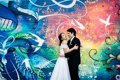 Os noivos! Foto Flavia Valsani