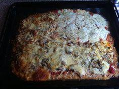 Fitnessrezept: Eiweiß Pizza – Low Carb Protein einfach selbst gemacht•cleveresleben.de
