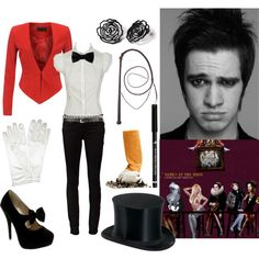 """""""I write sins not tragedies"""" by sweet-child-o-mine on Polyvore...another halloween costme idea?"""