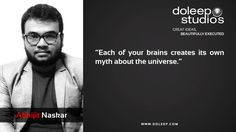 """""""Each of your brains creates its own myth about the universe.""""  #business #entrepreneur #fortune #leadership #CEO #achievement #greatideas #quote #vision #foresight #success #quality #motivation #inspiration #inspirationalquotes #domore #dubai#abudhabi #uae www.doleep.com"""