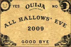Ouija invitations!