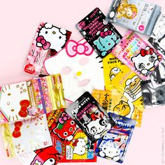 Hello beautiful skin! Show off your own personal glow with skin care products featuring your favorite Sanrio friends.