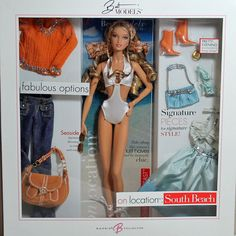 On Location: South Beach 2006 Barbie Doll for sale online Barbie Sets, Barbie Dolls For Sale, Barbie And Ken, Sewing Barbie Clothes, Doll Clothes, Barbie Bridal, Glam Doll, Beautiful Barbie Dolls, Poppy Parker