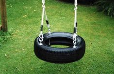 Triple Swing Frame with three double swing points for you to choose the swing seats to suit the age and ability of the children using it. Nest Swing, Diy Swing, Porch Swing, Garden Swing Sets, Wooden Garden Swing, Wooden Swing Frame, Wooden Swings, Single Swing, Double Swing