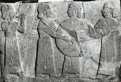 Hittite, music, Kargamış, Museum of Anatolian Civilization, Ankara (Ekrem Akurgal) (Erdinç Bakla archive)