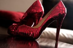 A step up from Dorothy's ruby slippers.