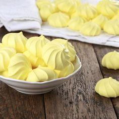Meringues express au citron