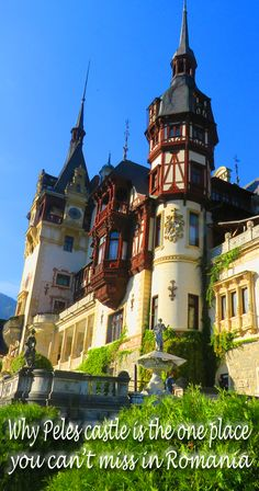 Why Peles castle is