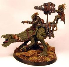 Warhammer 40k Kroot riders figures