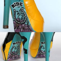 Cool & unique painted shoes