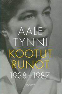 http://www.adlibris.com/fi/product.aspx?isbn=9510395862 | Nimeke: Kootut runot 1938-1987 - Tekijä: Aale Tynni - ISBN: 9510395862 - Hinta: 24,80 €  ||   Aale  Tynni (3 October 1913 – 21 October 1997), Finnish poet and translator.  -  http://en.wikipedia.org/wiki/Aale_Tynni