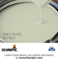 ONLY OLIVE OL739.3 is a part of the greens collection by Olympic® Paint.