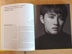 Kyungsoo, Event Ticket, Exo, Reflection, Actors, Cover, Books, Character, Libros