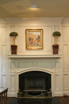 Fireplace molding inspiration...