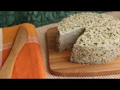 Nut and Seed Cheeses, A Raw Vegan Cultured Cheese - YouTube