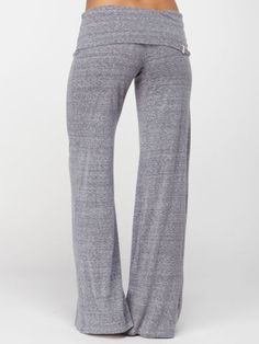 I WANT!! Slub Yoga Pant! These look so comfortable