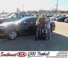 Happy Anniversary to Devin Lopez on your 2012 #Kia #Optima from Victor Jauregui and everyone at Southwest Kia Mesquite! #Anniversary