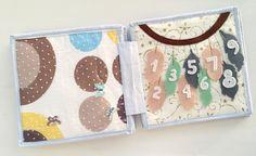 Toddler Quiet Book Felt Book Fabric Book Newborn Gift
