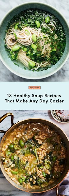 18 Healthy Soup Recipes That Make Any Day Cozier | Bon Appetit